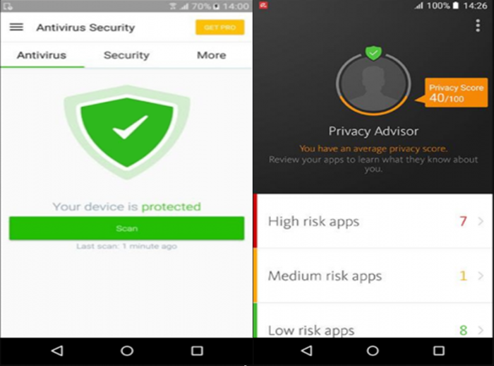 Avira Antivirus Security (Android)