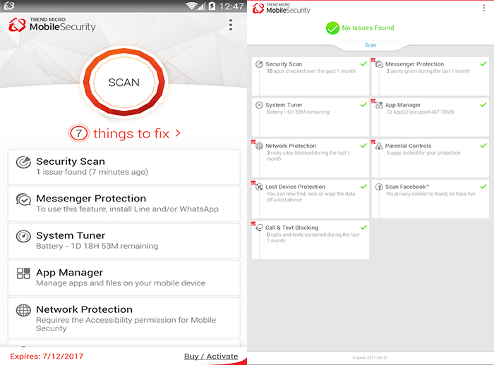 Trend Micro Mobile Security (Android)