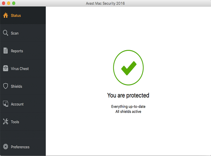 avast! Free Antivirus (Mac)