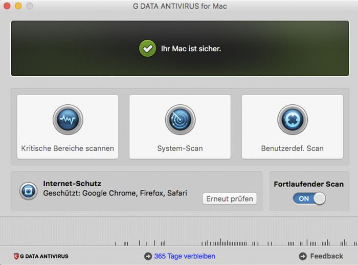 G DATA Antivirus (Mac)