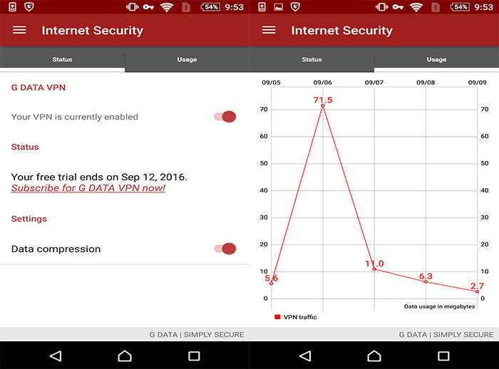 G DATA Internet Security (Android)