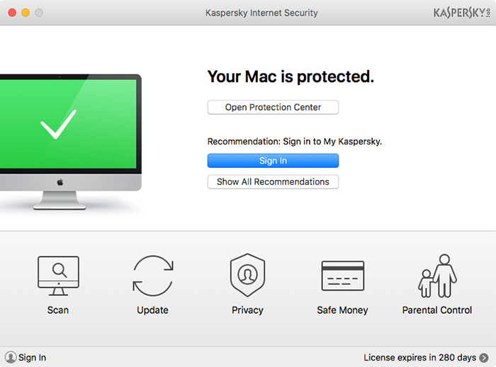 Kaspersky Internet Security (Mac)