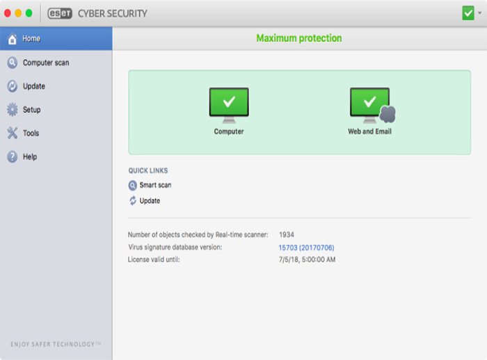 Eset Cyber Security Pro (Mac)