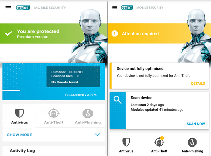 Eset Mobile Security (Android)