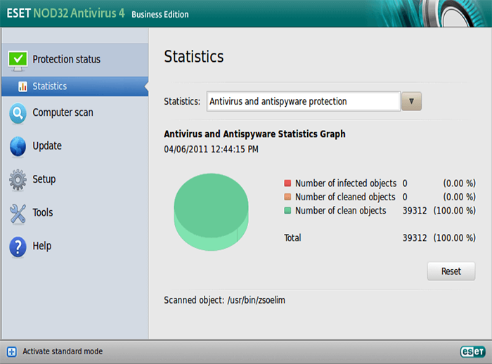 Eset NOD32 Antivirus (Linux)